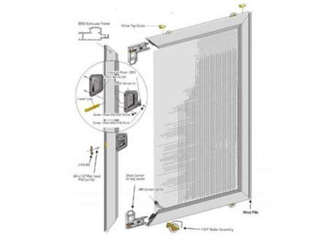 alumco milgard heavy duty extruded aluminum patio slider screenman mobile screening service