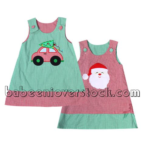 Applique On Line by Adorable Reversible Applique A Line Dress For Baby