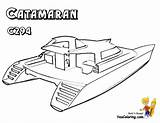 Coloring Boat Pages Catamaran Yacht Boats Ship Ferry Drawing Sailing Colouring Ships Yescoloring Super Sheets Superb Getdrawings Boys sketch template