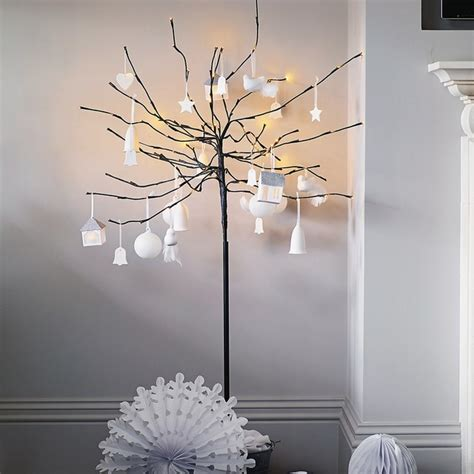 fairy light tree modern christmas trees by the white