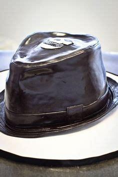 fedora hat cake cakes  cake inspirations pinterest