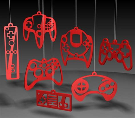 Game Controller Christmas Ornaments