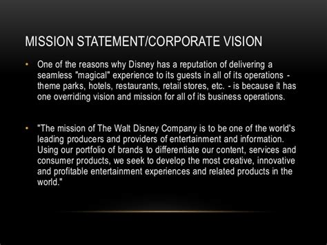 research powerpoint walt disney company