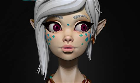 Stylized Character By Stefanieboehm Character Art 3d