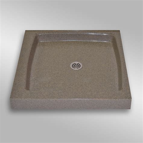 the marble factory single threshold shower base pg144