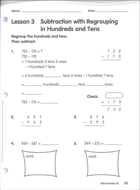 Math In Focus Grade 2 Extra Practice A (048023) Details  Rainbow Resource Center, Inc