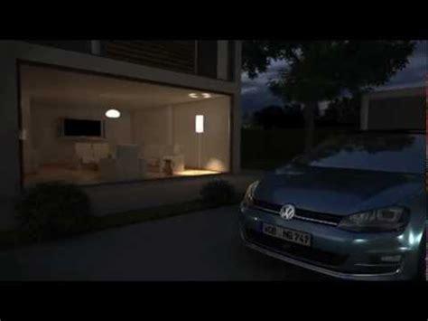 golf 7 ambientebeleuchtung vw golf 7 animation ambientebeleuchtung 2013