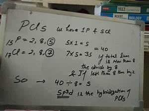 What Is The Hybridization Of Pcl5