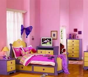 Wandgestaltung Kinderzimmer Mädchen : 125 einrichtungsideen f r ein sch nes m dchenzimmer ~ Sanjose-hotels-ca.com Haus und Dekorationen