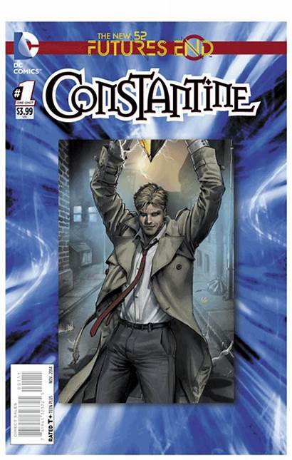 Futures End Constantine Savage Dc Holland Steve