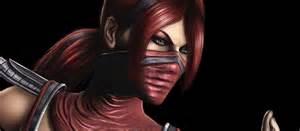 Mortal Kombat Skarlet Hot