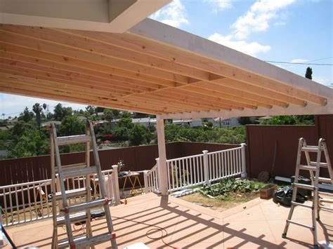Wooden Beams For Pergolas Roof