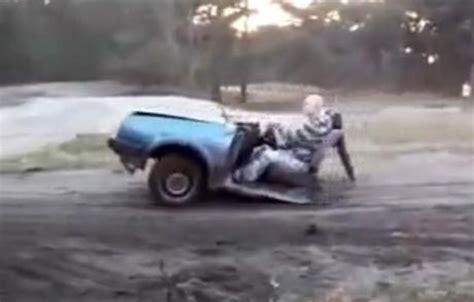 il conduit une moitiee de voiture video buzzraider