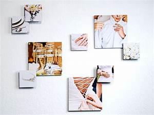 Idee Für Fotowand : 3d fotocollage fotowand erstellen auf drei ebenen photolini ~ Markanthonyermac.com Haus und Dekorationen