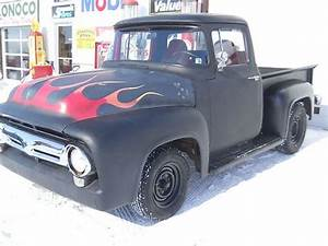 Sell Used 1956 Ford F100 Pickup Truck Street   Rat Rod V8