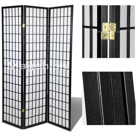 3 Panel Shoji Screem Room Dividerprivacy Wall With Rice