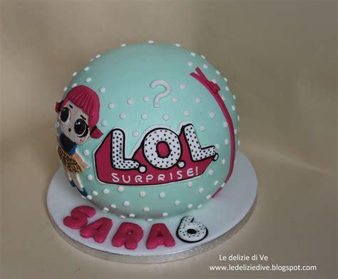 ledeliziedive lol cake surprise