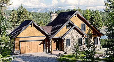 lakefront panoramic  bedrooms cottage house plans