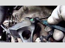 How to remove Gear Selector cables from Transmission, Ford