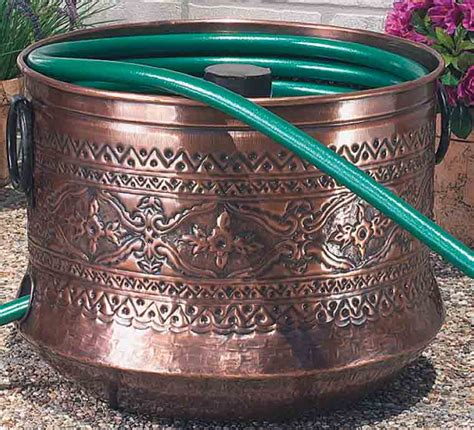 cobraco embossed hose holder with bronze