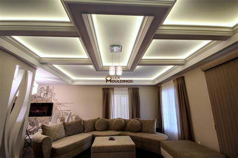 Coffered Waffle Ceiling