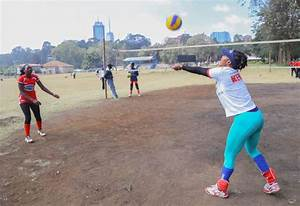 KCB women's volleyball team begins trials to bolster squad ...