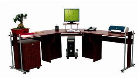 bureau ordinateur en coin bureau en bois d 39 ordinateur de meuble coin f 102 bureau