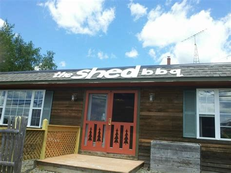the shed review the shed bbq rangeley restaurant reviews phone number