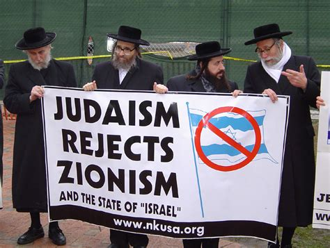 Judaism VS Zionism, There's a difference