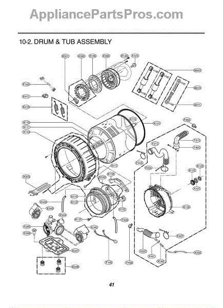 lg era lamp assembly appliancepartsproscom