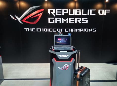 Asus Republic Of Gamers (rog) Unveils World's First Gaming