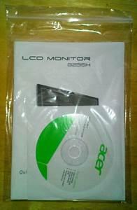 Acer Lcd Monitor Manual  U0026 User Guide Cd G235h Brand New