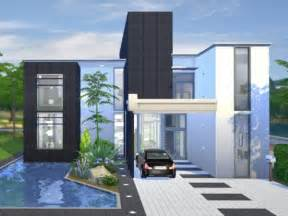 Harmonious Modern Sims Houses by The Sims Resource Onyx Modern House By Chemy Sims 4