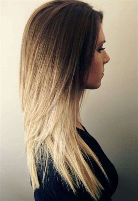 ombre hairstyles blonde red black  brown hair