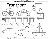 Coloring Pages Land Transportation Water Preschool Worksheet Air Transport Means Printable Worksheets Kindergarten Pluspng Worksheetfun Modes Template 1810 Activities Sheets sketch template
