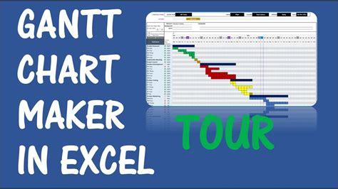 gantt chart maker excel template   youtube