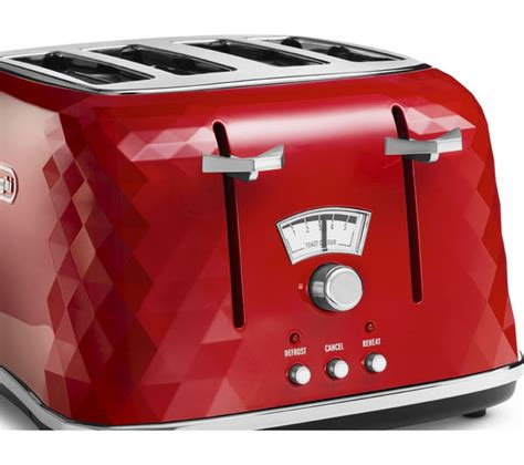 delonghi 4 slice toaster buy delonghi brillante ctj4003 4 slice toaster