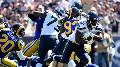 rams  seahawks week  thursday night football info