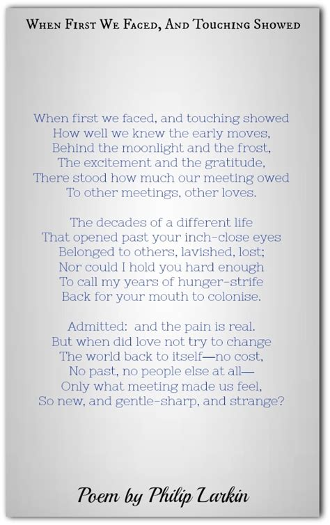 philip larkin poems classic famous poetry