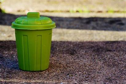 Trash Plastic Bin Soil Brown Garbage Peakpx