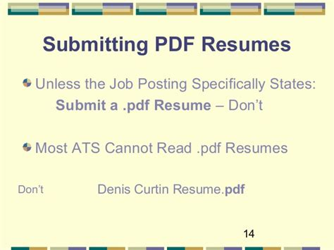 Preferred Resume Font by Optimize Your Resume For Applicant Tracking Systems 2016