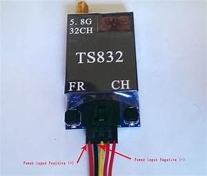 Fpv 5 8g 600mw A  V Transmitting  Receiving System Ts832   Rc832