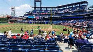 Braves Seating Chart View Citizens Bank Park Level 1 Diamond Club Home Of