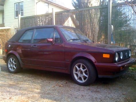 1991 vw cabriolet etienne aigner edition this is of my actual car i bought it after i