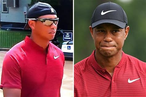 Tiger Woods arrives for US PGA final round 'looking like ...