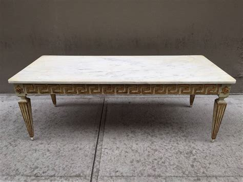antique marble top coffee table antique italian neoclassical style marble top coffee table