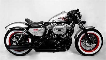 Harley Davidson 48 Motorcycle Chrome Wallpapers Desktop