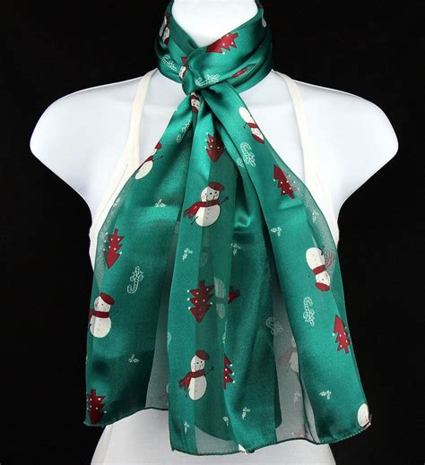 17 best images about holiday christmas scarves on