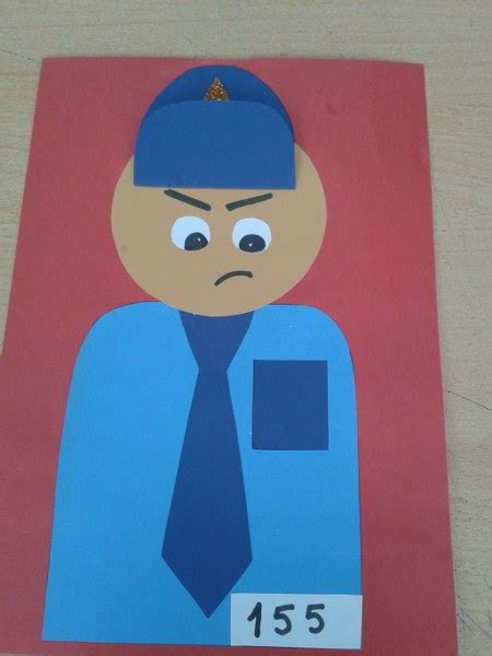 police crafts for preschoolers crafts actvities and worksheets for preschool toddler and 548