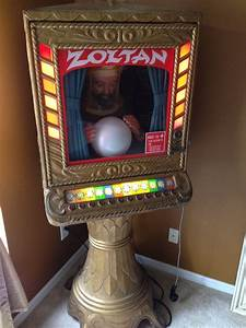 The Home Inventory Zoltan Penny Arcade Fortune Teller Machine Obnoxious